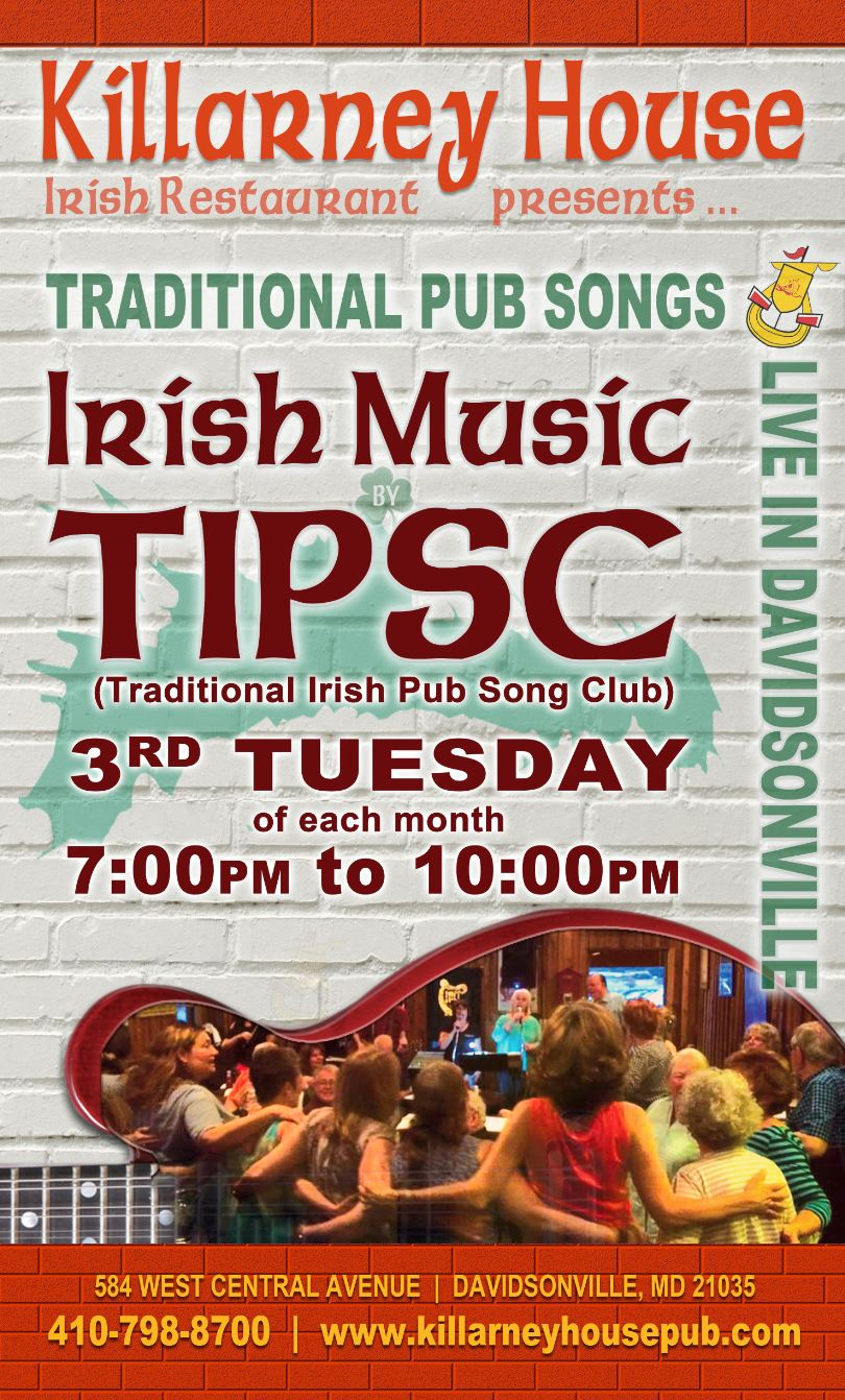 TIPSC (Traditional Irish Pub Song Club)